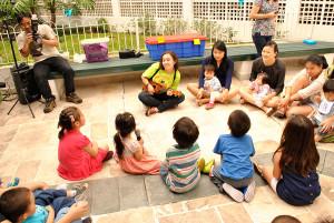 Oficina de Música em Festa Infantil