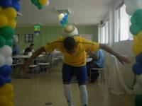 Jogador de Futebol para Ação de Endomarketing na Empresa