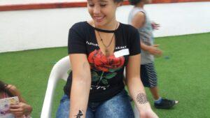 Tatuagem Temporária Aerografia Juvenil
