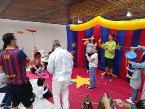 Oficina de Circo Festa de Aniversário
