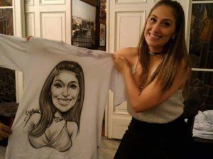 Caricatura em Camisetas